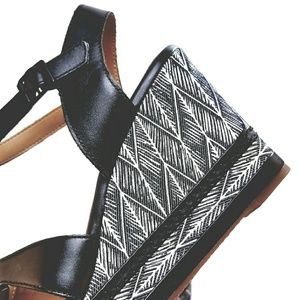 95e1dad7498d Clarks Shoes - NIB CLARKS ZIA NOBLE BLACK STRAP WEDGE HEEL